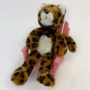 90s Cheetah Plush Manhattan Toy Company VTG